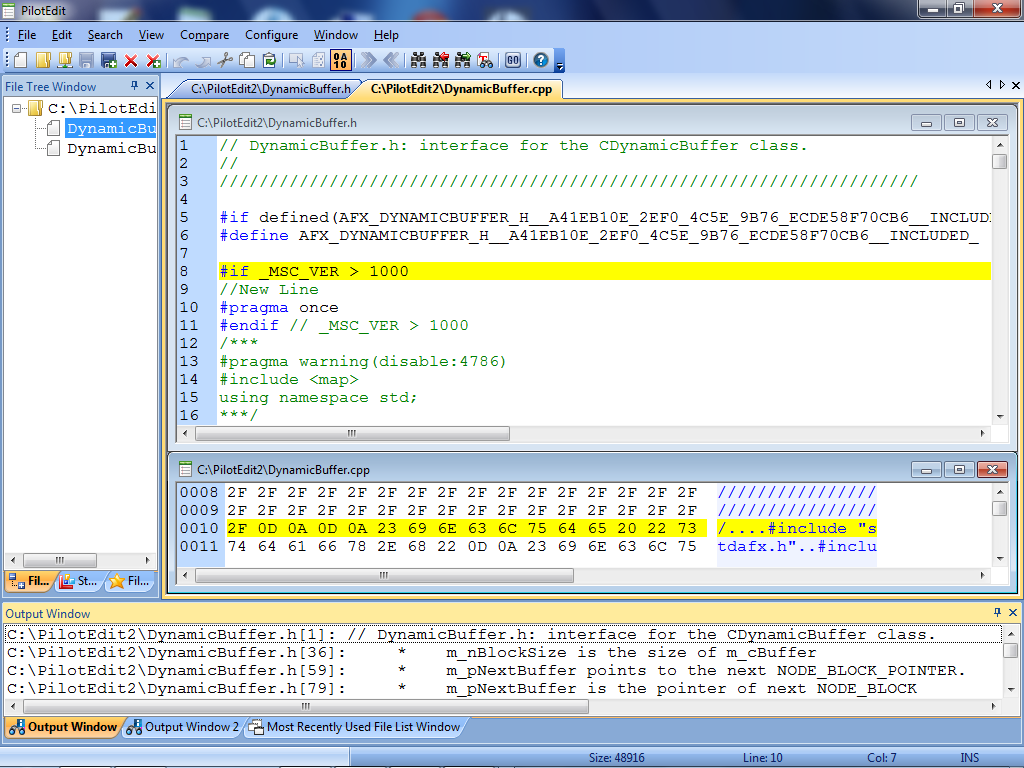 PilotEdit Lite freeware screenshot