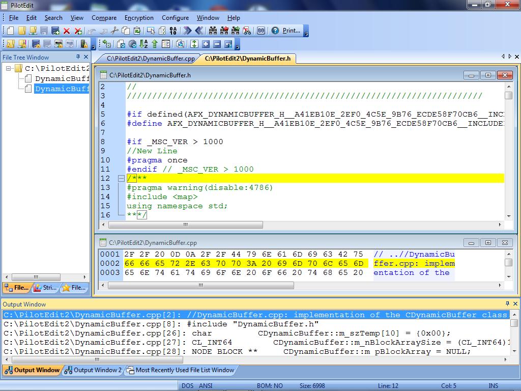 PilotEdit screenshot